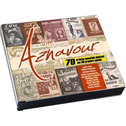 Vive Aznavour ! par 70 artistes essentiels