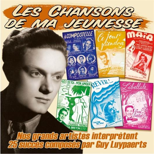 Nos grands artistes interprètent 25 succès composés par Guy Luypaerts