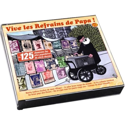 Vive les refrains de papa (5CD)