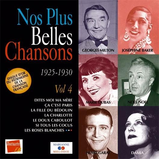 Nos plus belles chansons : Volume 4 1925-1930