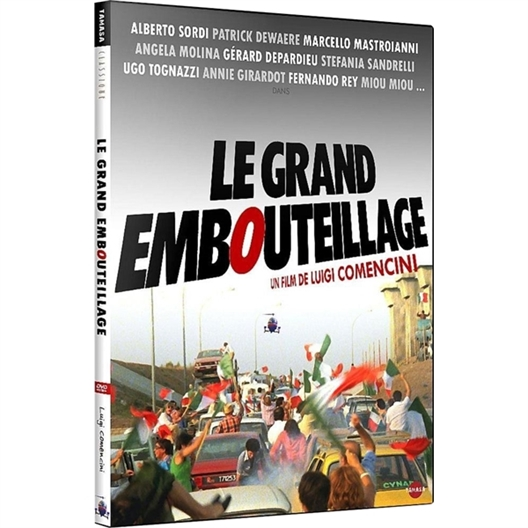 Le grand embouteillage : Marcello Mastroianni, Alberto Sordi, Gérard Depardieu