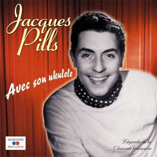 Jacques Pills : Avec son ukulele