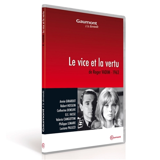 Le vice et la vertu : Catherine Deneuve, Robert Hossein, Annie Girardot