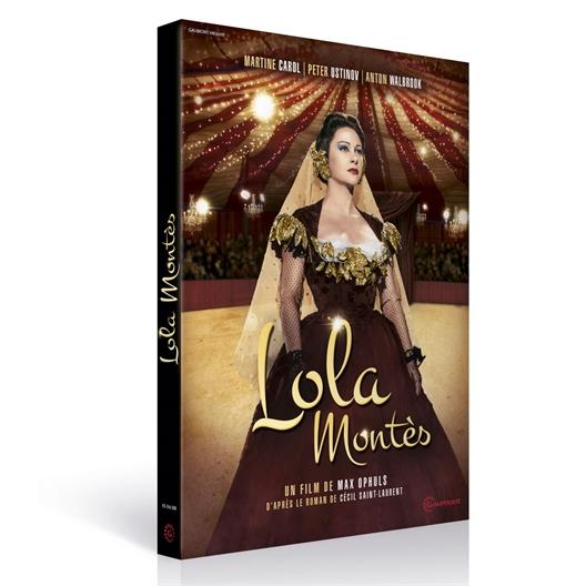 Lola Montes : Martine Carol, Peter Ustinov, Anton Walbrook