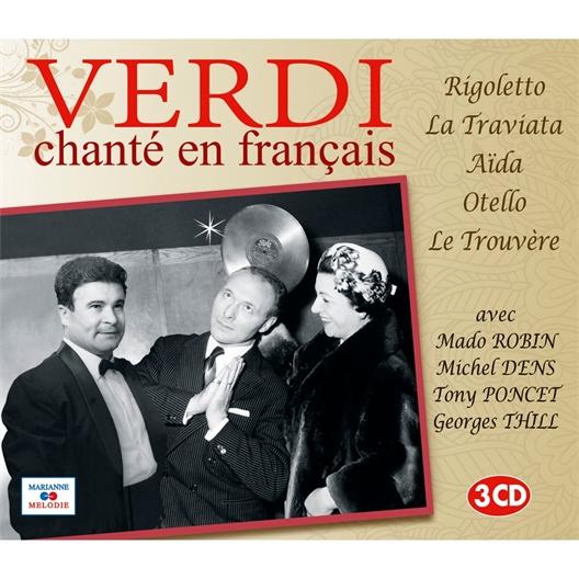 Verdi : Chanté en français