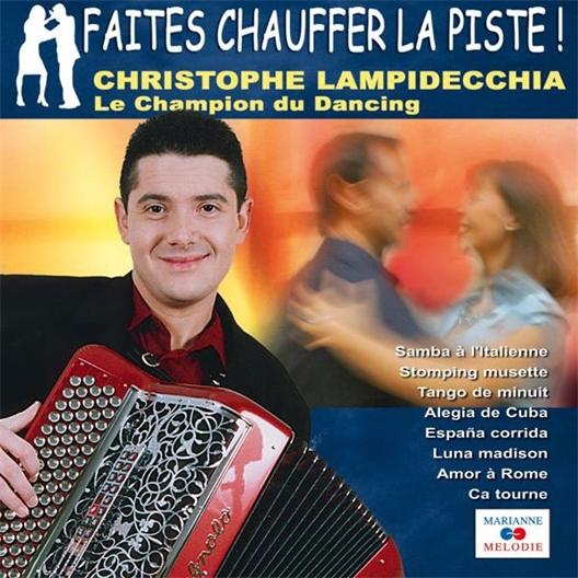 Christophe Lampidecchia : Champion du dancing