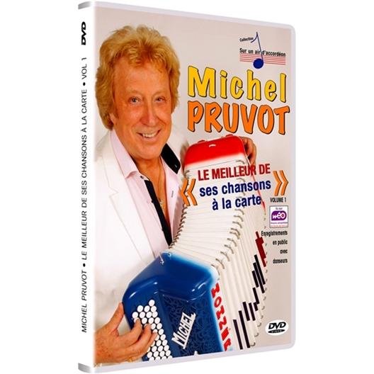 Michel Pruvot : Le meilleur de ses chansons à la carte