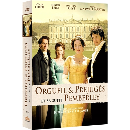 Orgueils et Préjugés + Pemberley : Anna Maxwell Martin, Matthew Rhys