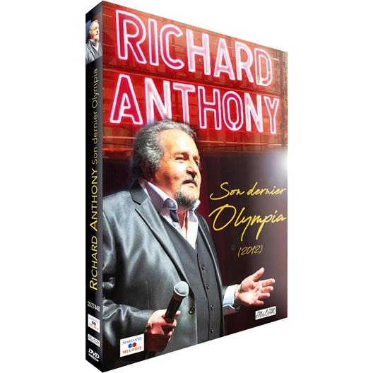 Richard Anthony : Son dernier Olympia en 2012