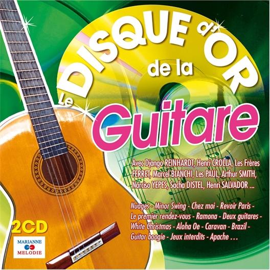 Le disque d'or de la Guitare