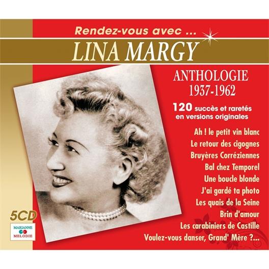 Lina MARGY (Coffret 5 CD)