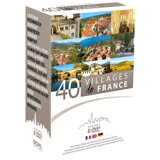 40 villages de France (8 DVD)