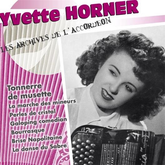 Yvette Horner : Tonnerre de musette