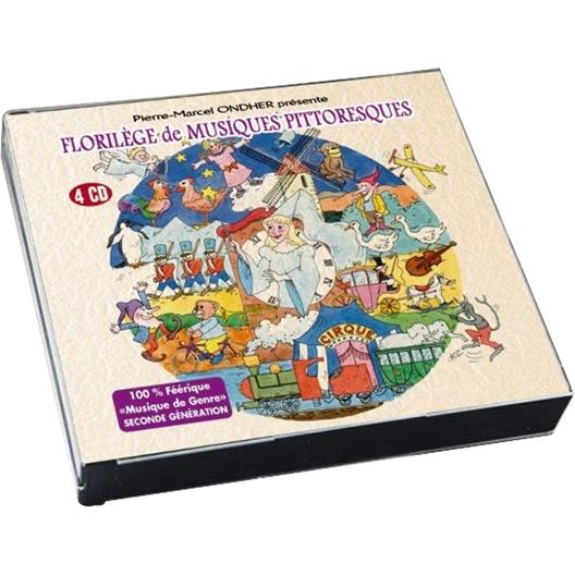 Pierre-Marcel Ondher : Florilège de Musiques Pittoresques (4CD)
