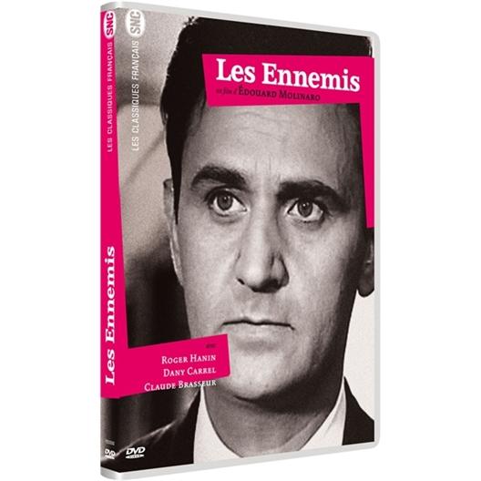 Les ennemis : Roger Hanin, Dany Carrel, Claude Brasseur