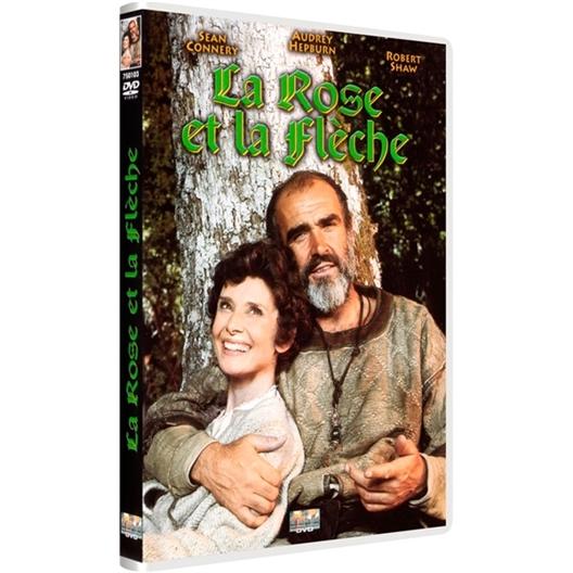 La rose et la flèche : Sean Connery, Audrey Hepburn