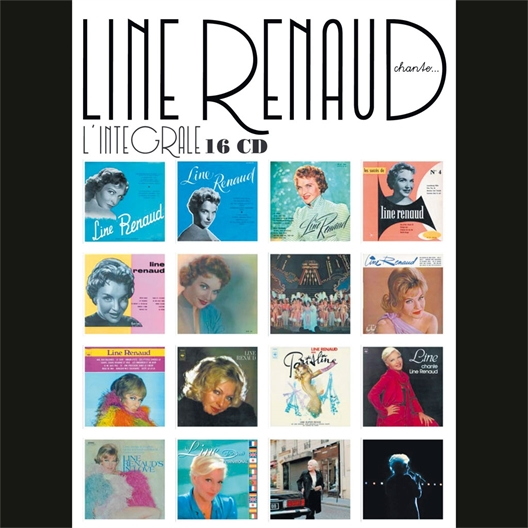 Line Renaud : L'intégrale Studio (16 CD)
