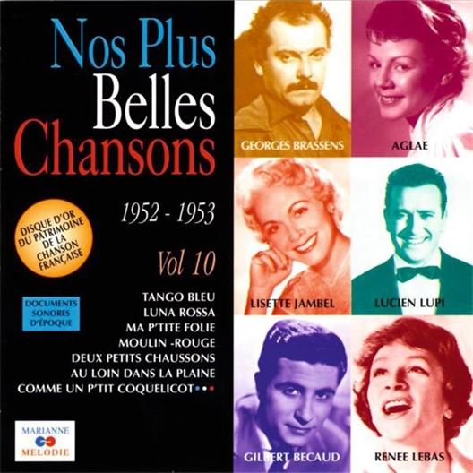 Nos plus belles chansons : Volume 10 1952-1953