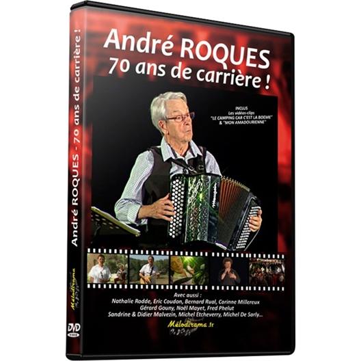 André Roques : 70 ans de carrière