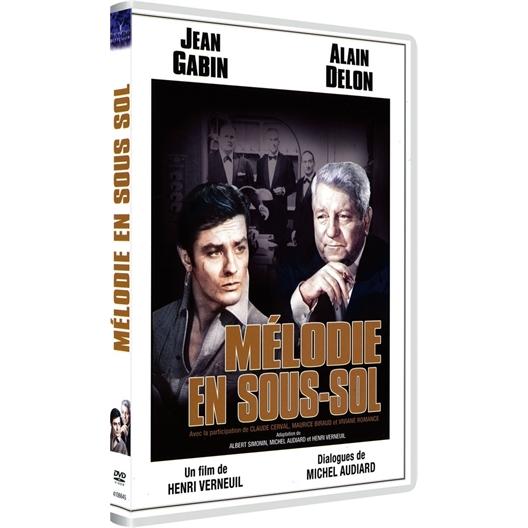 Mélodie en sous-sol : Alain Delon, Jean Gabin...