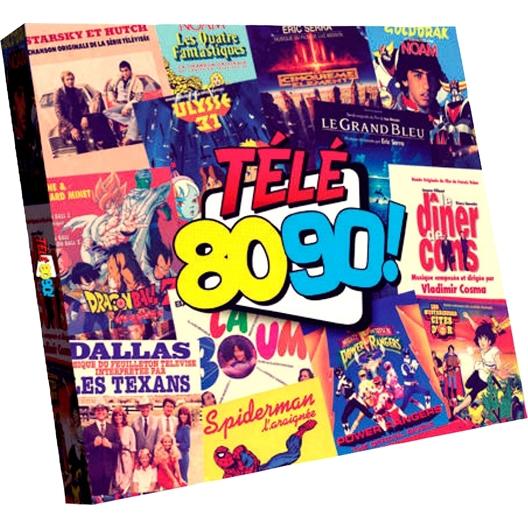 Télé 80/90 - Les génériques inoubliables
