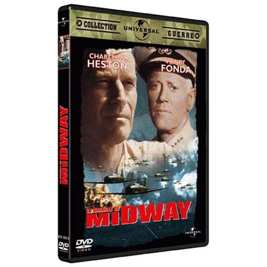 La bataille de Midway : C. Heston, H. Fonda, J. Coburn... - Collection guerre