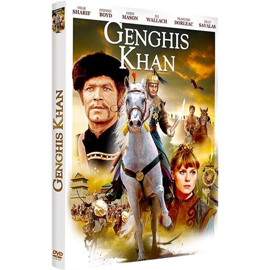 Genghis Khan : Omar Sharif, Stephen Boyd, …