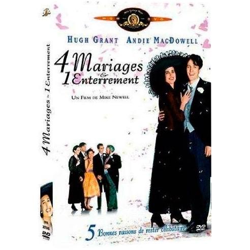 4 mariages et 1 enterrement : Hugh Grant, Andie MacDowell…