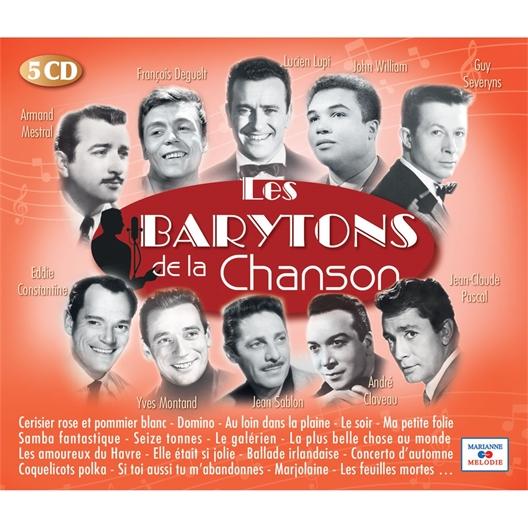 Les barytons de la chanson (5 CD)