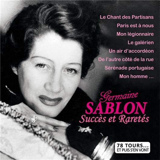 Germaine Sablon : 78 T