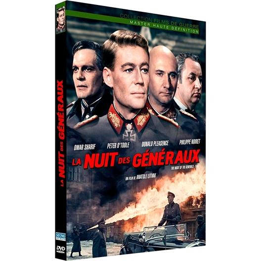 La nuit des généraux : Omar Sharif, Peter O'toole, Nicole Courcel…