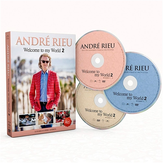 Welcome to my word 2 : André Rieu