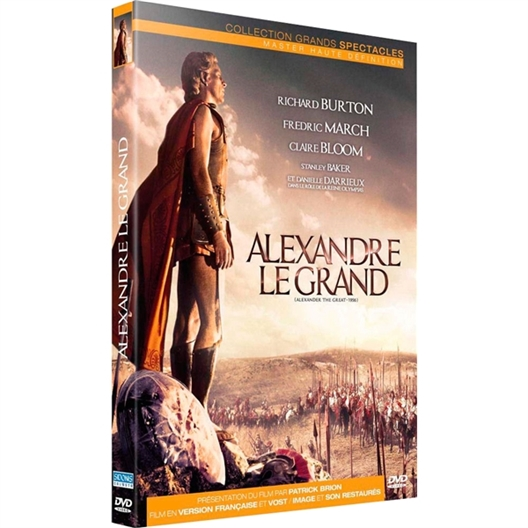 Alexandre Le Grand : Richard Burton, Claire Bloom, …