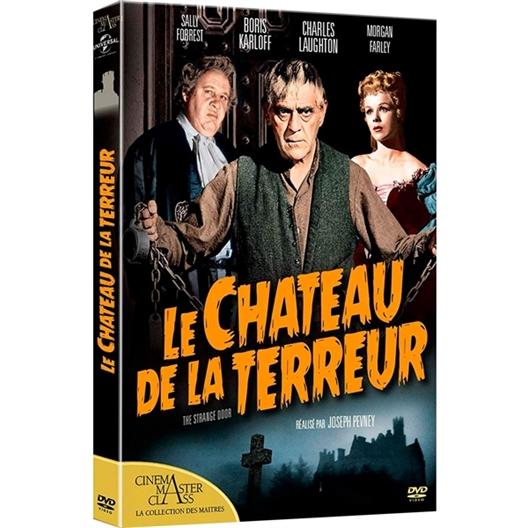 Le château de la terreur : Charles Laughton, Boris Karloff…