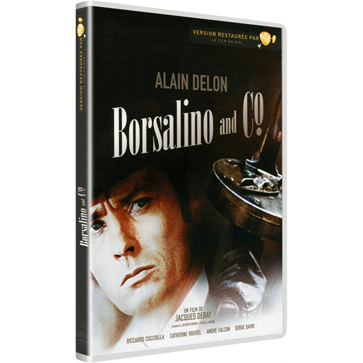Borsalino & Co : Alain Delon, Riccardo Cucciolla