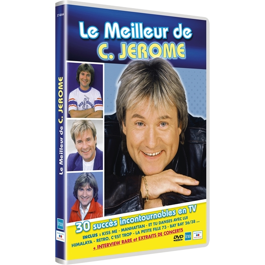 Le Meilleur de C.Jérôme en DVD