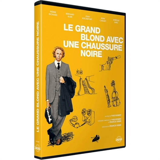 Le grand blond avec une chaussure noire : Pierre Richard, Jean Rochefort…