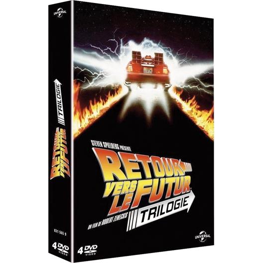 Retour vers le futur - La trilogie : Michael J.Fox, Christopher Lloyd, …