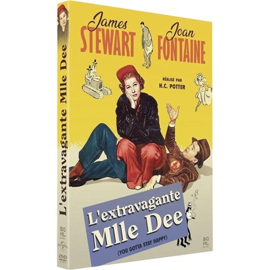 L'extravagante Mlle Dee : Joan Fontaine, James Stewart, …