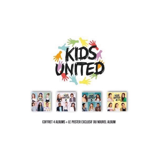 Kids United : Les 4 albums
