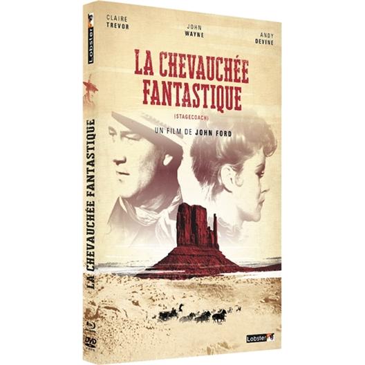 La chevauchée fantastique : John Wayne, Claire Trévor, …