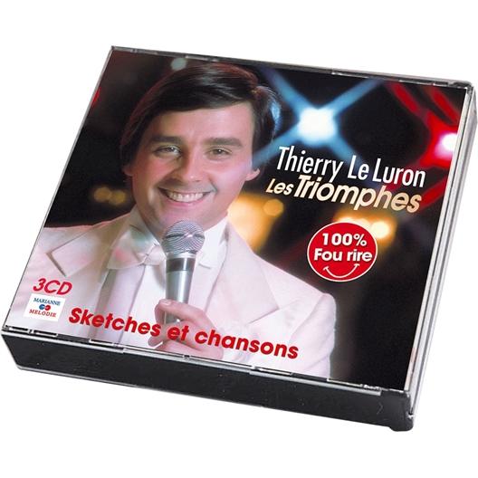 Thierry Le Luron : Les Triomphes (3 CD)