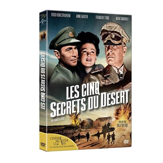 Les 5 secrets du désert : Franchot Tone, Anne Baxter…
