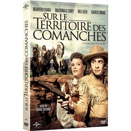 Sur le territoire des Comanches : Maureen O'hara, Charles Drake, …