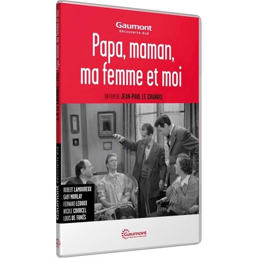 Papa, Maman, ma femme et moi : Robert Lamoureux, Gaby Morlay, Nicole Courcel...