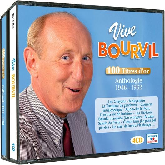 Vive Bourvil 4 CD