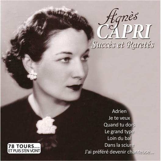 Agnès Capri Succès et Raretés