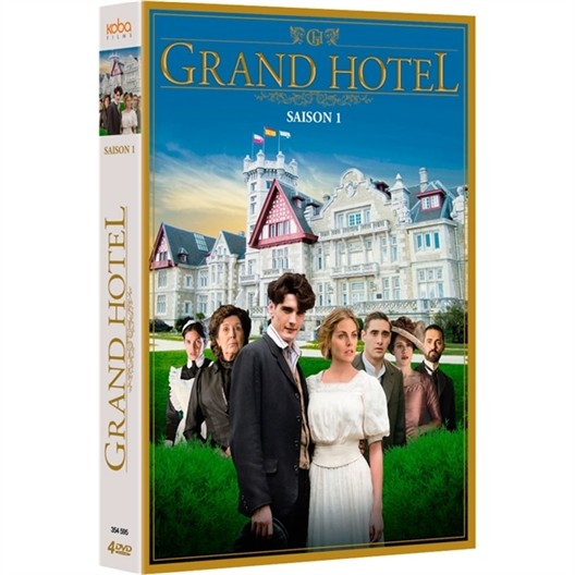 Grand Hôtel - Saison 1 : Amaia Salamanca, Yon Gonzàlez… (4 DVD)