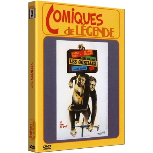 Les gorilles : Darry Cowl, Francis Blanche…