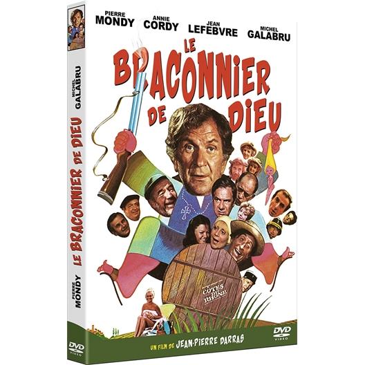 Le Braconnier de Dieu : Pierre Mondy, Michel Galabru, Jean Lefebvre, Roger Pierre, Robert Castel, Annie Cordy, …